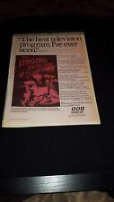 The Singing Detective Rare 1988 BBC Promo Poster Ad Framed!