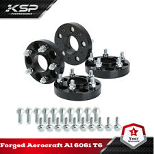 4X 5X110 Hubcentric M12x1.25 Wheel Spacers 25mm Fits All 2015-2019 Jeep Renegade