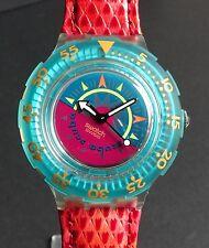 Swatch Scuba 200 sdk111 aproximándonos Compass-nuevo ungetragen en OVP