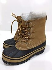 Snowy Creek Girls' Winter Snow Waterproof Boots Youth Size 1 M