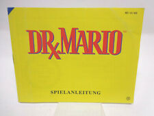Anleitung - Handbuch - Bedienungsanleitung NES - Dr. Mario