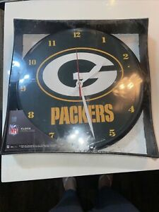 Wincraft Green Bay Packers 12 inch Round Wall Clock