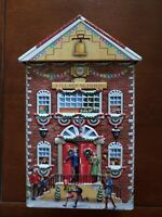 LN Harry London Gourmet Chocolates VILLAGE SCHOOL Holidays Collector's Tin