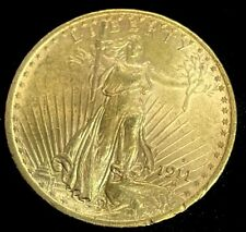 1911 S St Gaudens $20Gold Double Eagle Uncirculated Coin