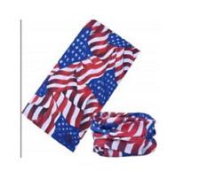 tour de cou, tube cagoule, drapeau USA flottant, harley, country, moto, airsoft