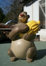 Vintage Plastic Baloo From The Jungle Book