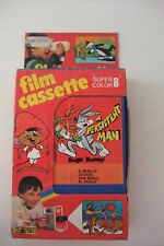MUPI Warner Bros: BUGS BUNNY IL DUELLO in box - TOY FILMCASSETTE SUPER 8