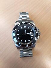 PARNIS - Herren - Armbanduhr mit Datum und Box - Gebraucht - Saphirglas - 40mm