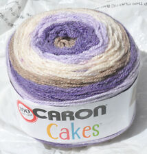 "Caron Cakes in Colorful ""LILAC FROSTING"" - New & Smoke Free Home, Worsted Yarn"