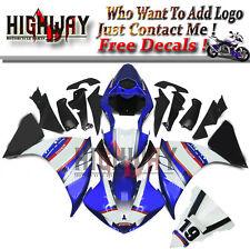 Fairings For Yamaha YZF R1 09-11 ABS Fairing Kit Bodywork Sterilgarda 19 Blue