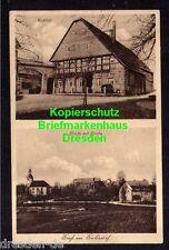 118069 AK Garbisdorf um 1925 Gasthof Straße mit Kirche