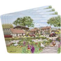 Leonardo Collection Farmyard Design Set of Four Place Mats