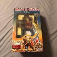 "Iron Maiden The Trooper Eddie 18"" Figurine Numbered Series 1658/30000 RARE MINT"
