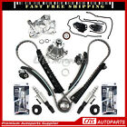 Timing Chain Kit Solenoid Valve Water Oil Pump For 04-08 Ford Lincoln 5.4L 3V