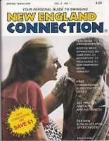 spring 1978 New England Connection guide to swinging Vol 2 No 1