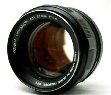 Konica Hexanon AR 1:1.4 57mm Lens *As Is* #Y022a