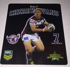 2013 : NRL RUGBY LEAGUE FOOTY TAZO #11/48 : DALY CHERRY EVANS : MANLY SEA EAGLES