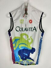 Castelli XS Cycling Shirt Sleeveless Full Zip