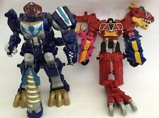 POWER RANGERS DINO CHARGE AND Q REX MEGAZORDS