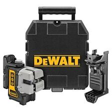 DEWALT DW089K Self Leveling 3-way Cross Beam, Multi Line Laser Level Kit NEW