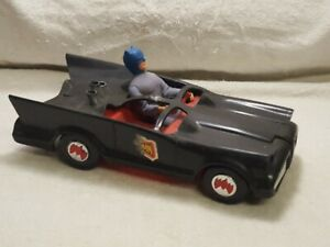 "Vintage 1974 Mego Batmobile 13"", Batman Action Figure Car Vehicle Original"