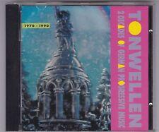 TONWELLEN - 1970-1990 2 DECADES OF GERMAN PROGRESSIVE MUSIC CD © 1990 GERMANY