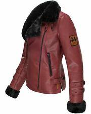 buy online d8d3d 4366a Lederjacke Damen Bordeaux günstig kaufen   eBay