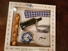 Muffy Collection Paris Bistrot boxed food set w apron and table cloth