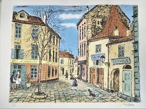 Chez Jeannette, Montmartre, Paris by Alois Lecoque