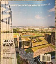 Landscape Architecture Magazine Super Soak Perk Park August 2015 FREE SHIPPING!
