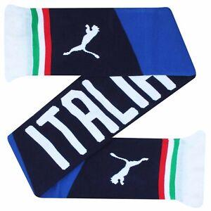 Official ITALY EUROS Football Fans Souvenir Scarf by PUMA (100% Acrylic)