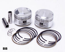 "2 x MOLY PISTONS & RINGS evo evolution HARLEY MOTOR ENGINE  3-1/2 "" 1340 80cu"