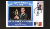 SOUTH AFRICA 2007 RUGBY WORLD CUP WIN COVER JOHN SMIT 2
