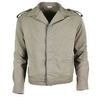 Genuine French army ike jacket grey military blaze