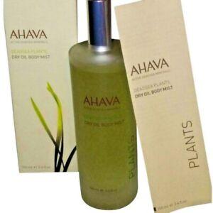 AHAVA Dead Sea Minerals Dry Oil Body Mist - Plants