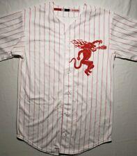 Fireball Whiskey Promo Baseball Jersey #66 Mens Shirt Medium Euc