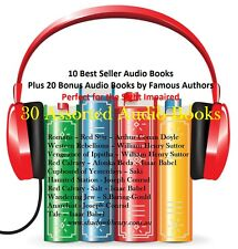 CD - 30 Audio Books - Sight Impaired, Blind  - (Re-Sell Right)