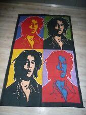 Bob Marley Wandbehang Tagesdecke Strandtuch Bedcover ca. 190x1,32cm