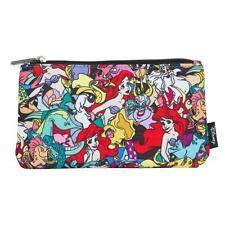 Loungefly Disney Ariel Little Mermaid Pen Cosmetic Case Coin Bag Wallet Clutch
