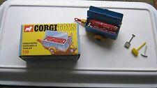 Corgi 109 pennyburn écrans pour remorque good original en bon repro box
