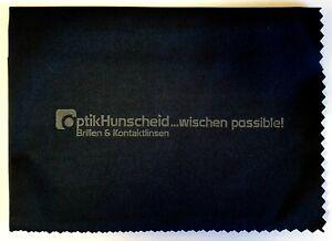 Mikrofasertuch Brillenputztuch Premium (groß) Optik Hunscheid