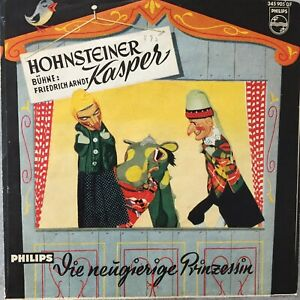DER HOHNSTEINER KASPER: Die neugierige Prinzessin (Single Philips 345 905)