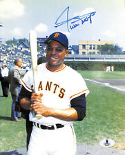 WILLIE MAYS 2X MVP VINTAGE NICE SIGNED AUTOGRAPHED AUTO 8X10 PHOTO BECKETT BAS