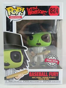 Movies Funko Pop - Baseball Fury (Green) - Little Warriors - Funko Excl -No. 824