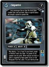 Star Wars CCG Endor DS Rare Sergeant Irol