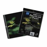 Itoya Polyglass Multi-Ring Pages 18x24 (Same Shipping Any Qty)