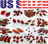 16 Varieties ORGANICALLY GROWN Hot Pepper Seeds Heirloom NON-GMO Rare  Exotic US