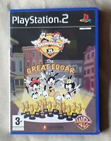 PS2 GAME - Animaniacs The Great Edgar Hunt + instructions