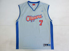 LOS ANGELES CLIPPERS REEBOK ODOM  VINTAGE CANOTTA BASKET NBA JERSEY SHIRT