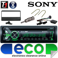Ford Escort Sony DAB CD MP3 USB Bluetooth Estéreo De Coche Radio Y Kit De Volante